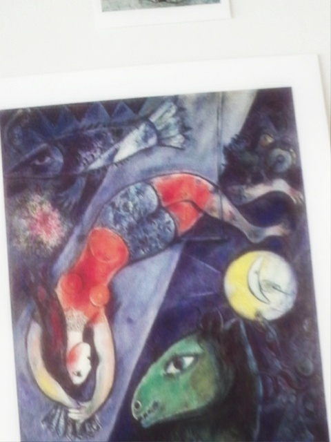 Marc Chagall Blue Circusmy fave painting of his -