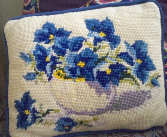 a pillow my 1 and only grandmother made