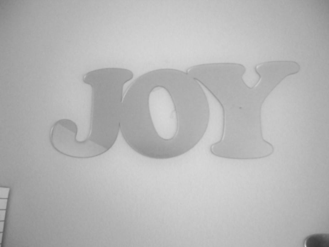 Joy Mirror sticker