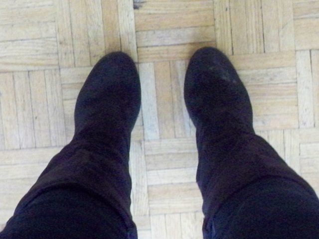 Salty wrecked boots -