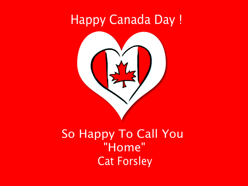 "So Happy To Call You ""Home "" Cat Forsley ©"