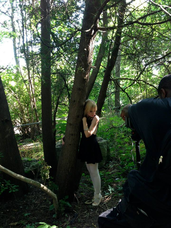 Cat Forsley Video Shoot for Hearts Expire