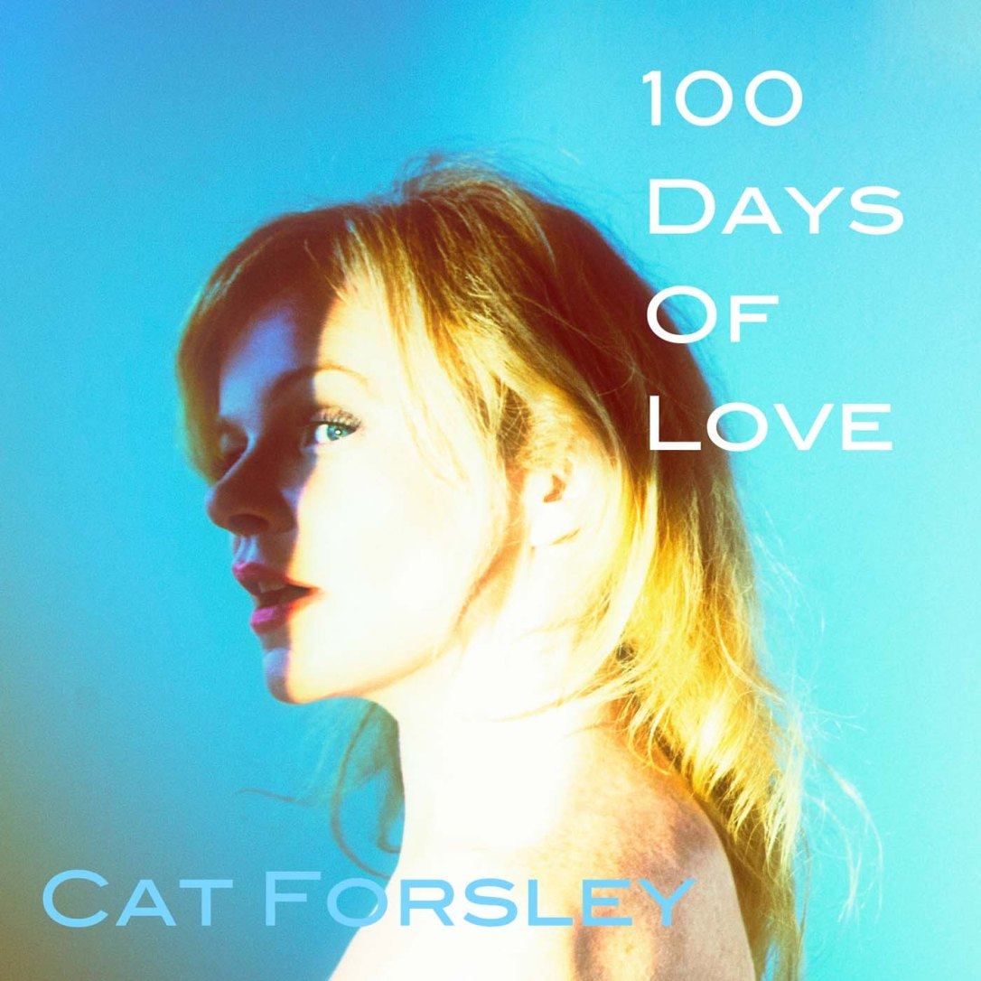 100 Days Of Love (audio book cover ) Cat Forsley