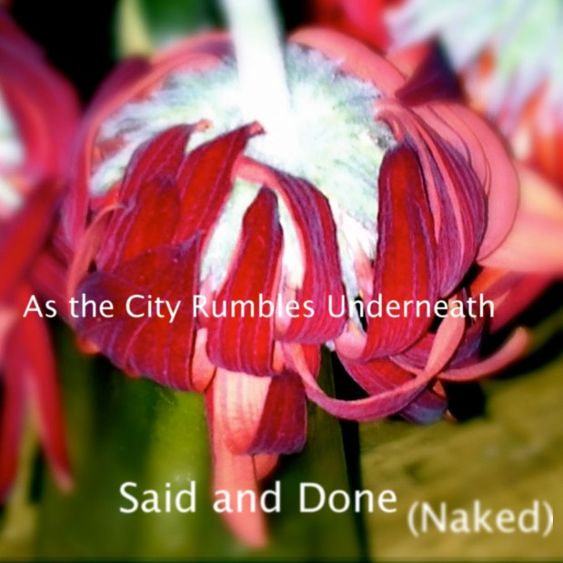 Said and Done (Naked) - As The City Rumbles Underneath  Art Ashton Price ©