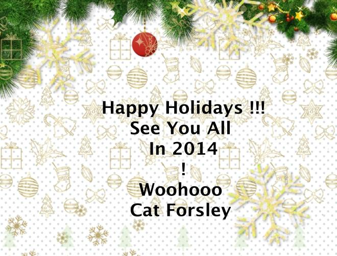 Happy Holidays :) xx Cat