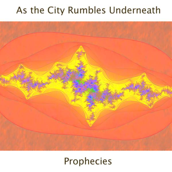 """Prophecies "" As The City Rumbles Underneath  Art By Cat Forsley"